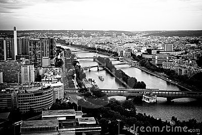 Der Seine in Paris