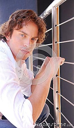 Derek - artistic portrait shot