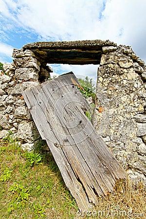 Derelict door