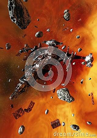 Derelict Spaceship