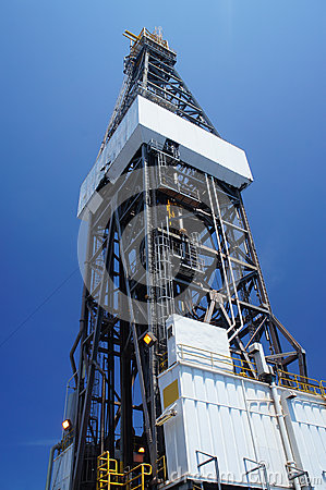 Derrick of Offshore Jack Up Drilling Rig