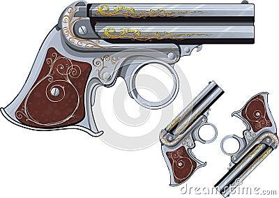 Derringer revolver