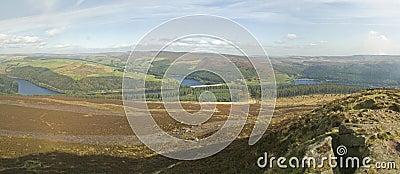 Derwent Valley from Win Hill, Derbyshire