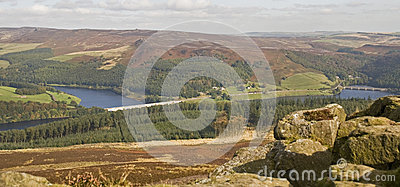 Derwent Valley from Win Hill, Derbyshire