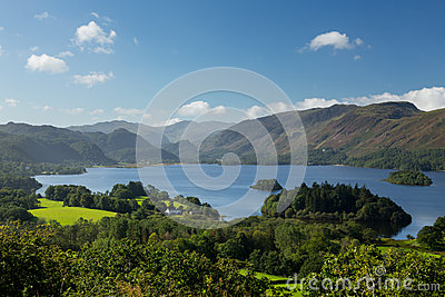 Derwent Water from Castlehead viewpoint