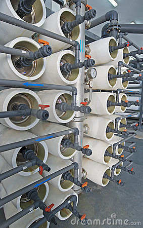 Desalination filters