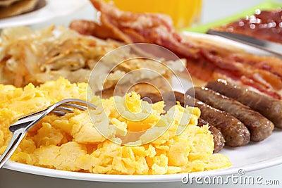 Desayuno caluroso