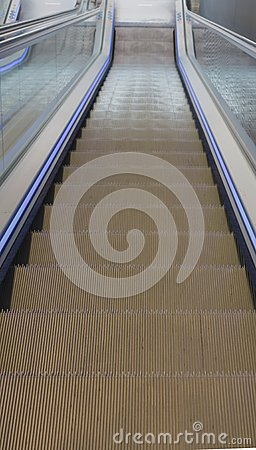 Descent - escalator down