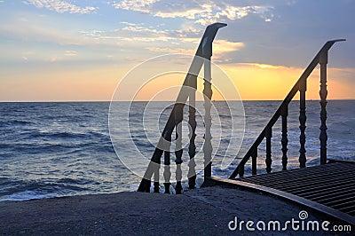 Descent to the sea