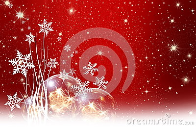 Desejos do Natal, estrelas, fundo