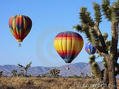 Desert Balloons