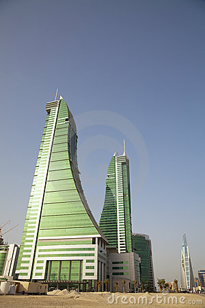 Desert Buildings, Manama, Bahrain