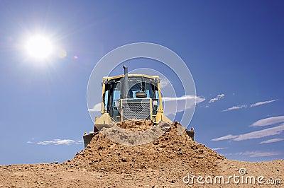 Desert bulldozer