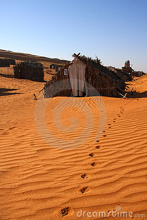 Desert cabins