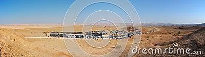 Desert Campsite Panorama, Israel