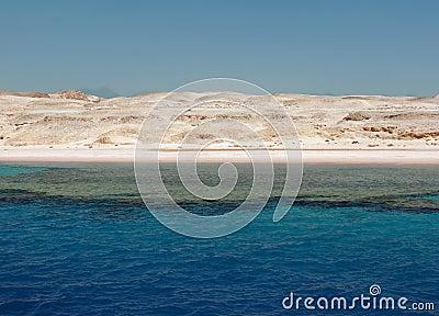 Desert coast. Sinai
