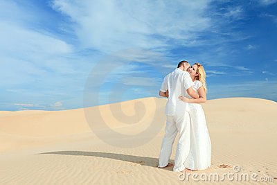 Desert couple