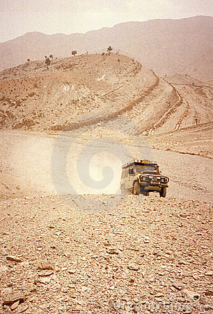 Free Desert Driving Royalty Free Stock Image - 236506