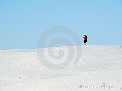 Desert dune photographer