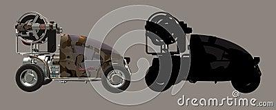 Desert Fighter Car