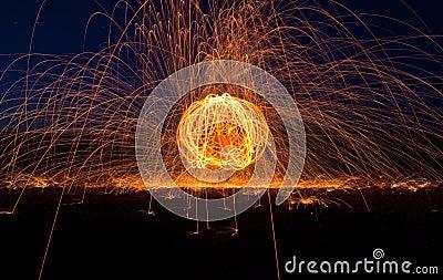 Desert Fire Orb