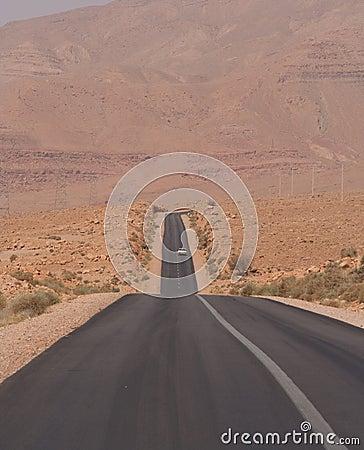 Desert high way
