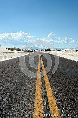 Free Desert Highway Royalty Free Stock Photo - 1357475
