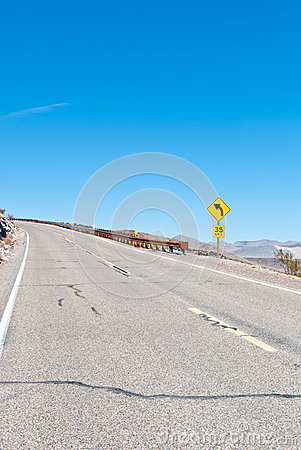 A desert highway