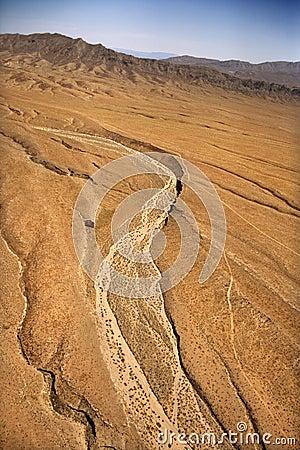 Free Desert Landscape. Stock Image - 3611301