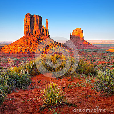 Free Desert Landscape In Arizona, Monument Valley Stock Image - 79159991