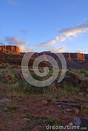 Desert landscape of Utah