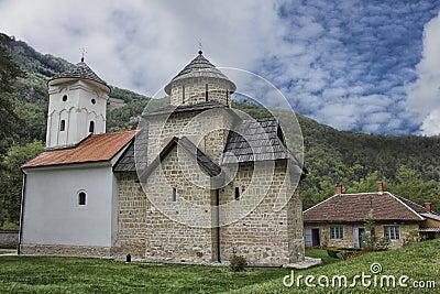 Desert Monastery in Serbia