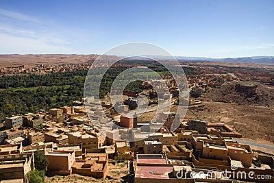 Desert oasis in Morocco