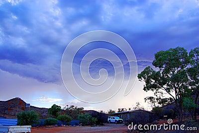 Desert Outback Storm