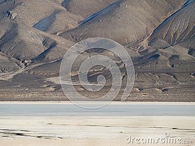 Desert playa near Gerlach, Nevada