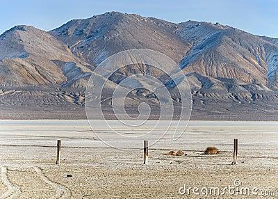 Desert playa in Northern Nevada