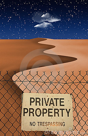 Desert Private Property