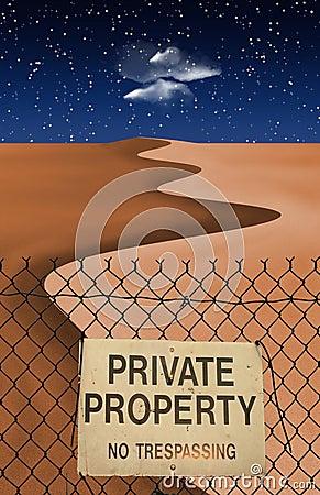 Desert Private Property