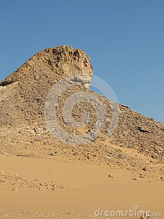 Desert Rock in Egypt