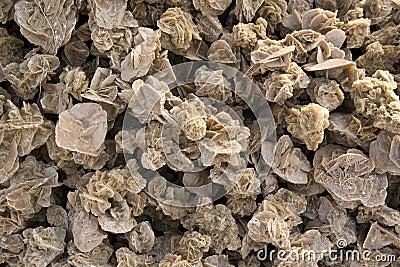 Desert roses - texture