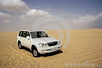 Desert safari Editorial Photo