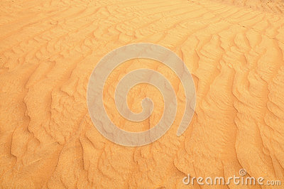 Desert sand close up