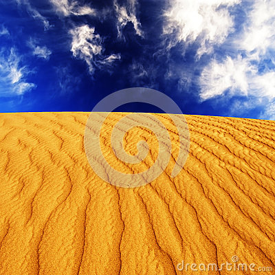 Free Desert Sand Dunes Stock Photography - 44626022