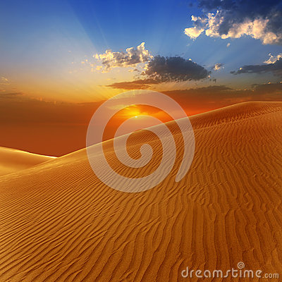 Free Desert Sand Dunes In Maspalomas Gran Canaria Stock Image - 26482271