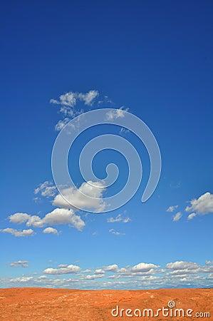 Desert Skyscape