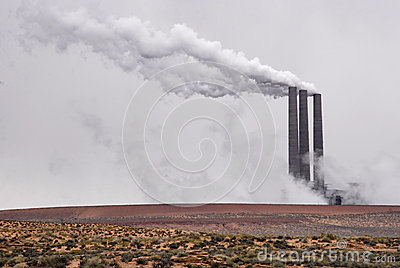 Desert Smokestacks