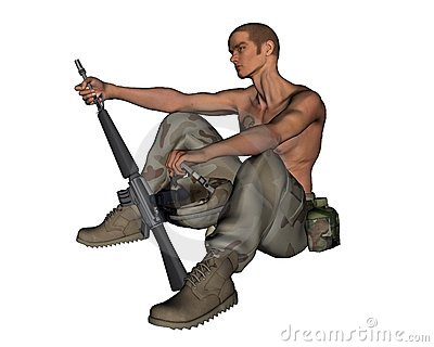 Desert Soldier - 2