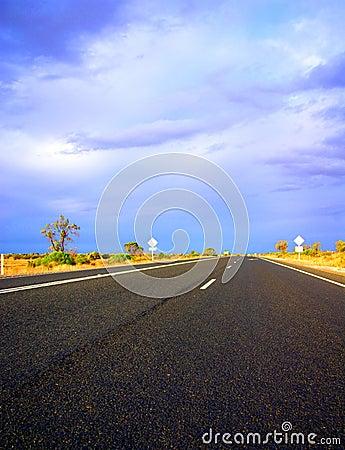 Desert Stormy Drive near Renmark