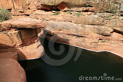 Desert swimming hole