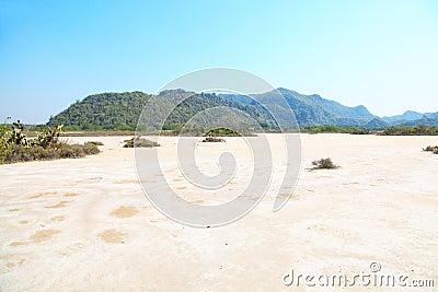 Desert in Thailand